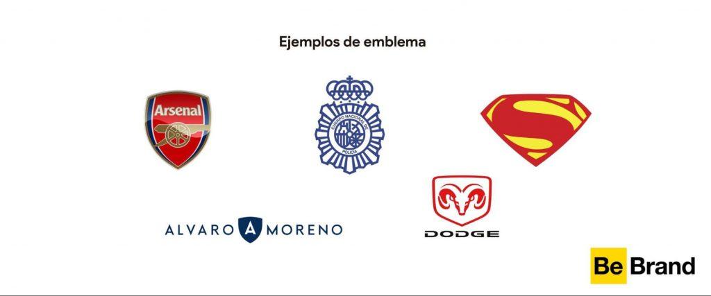 ejemplos de emblemas